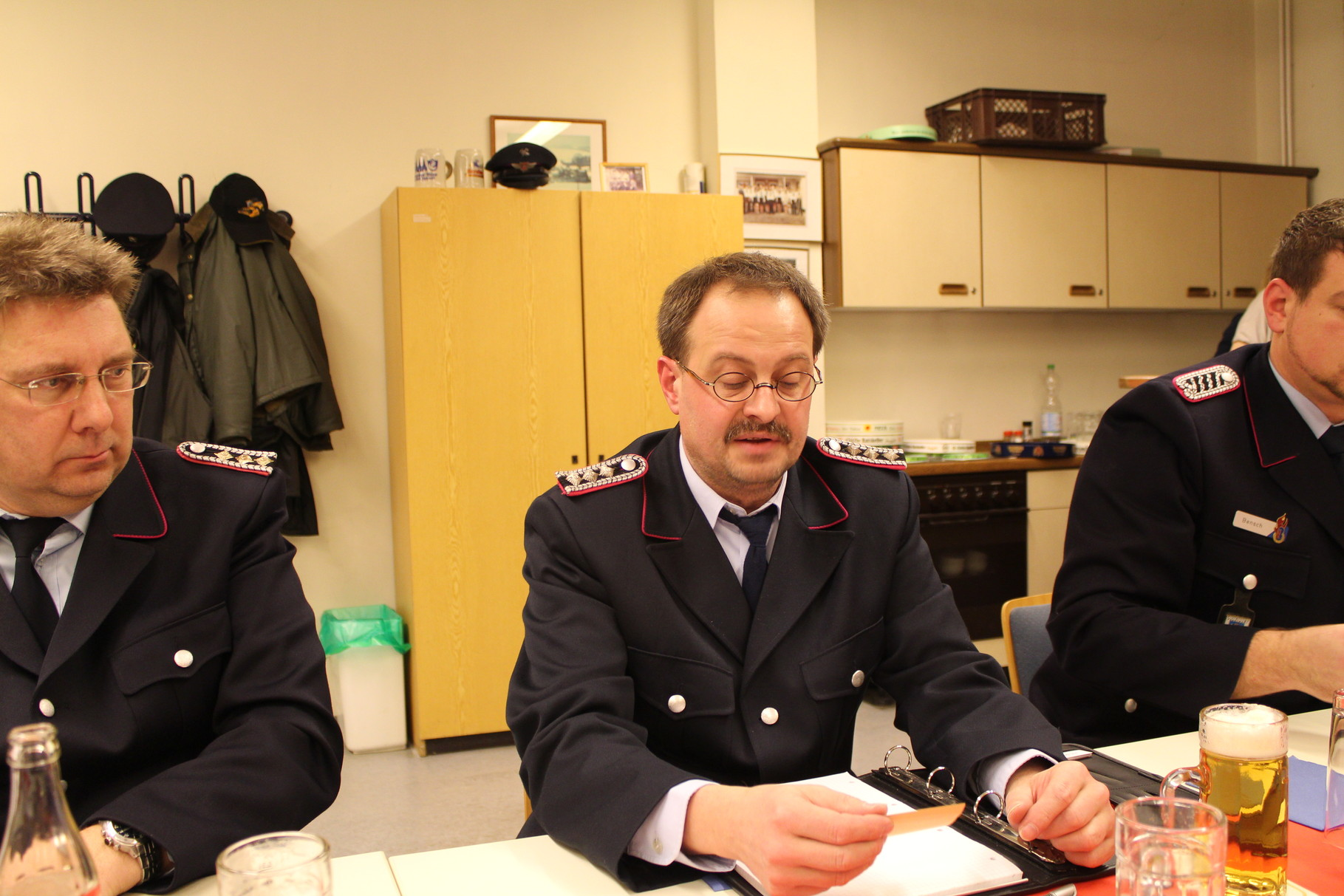FFW Kassenwart , Kamerad Rolf Wegener , Kommando FFW