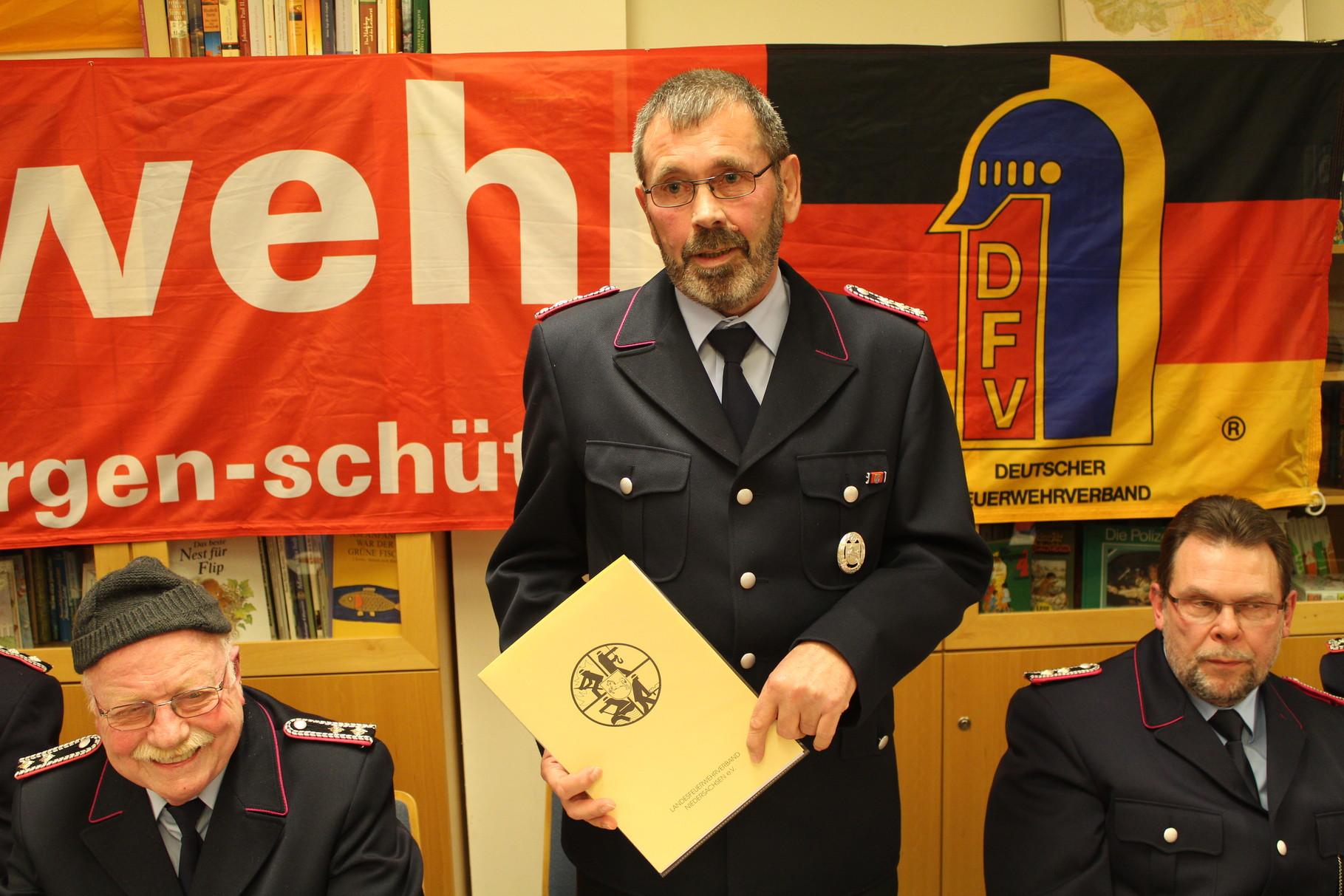 Kamerad Heinz Kasten Altersabteilung