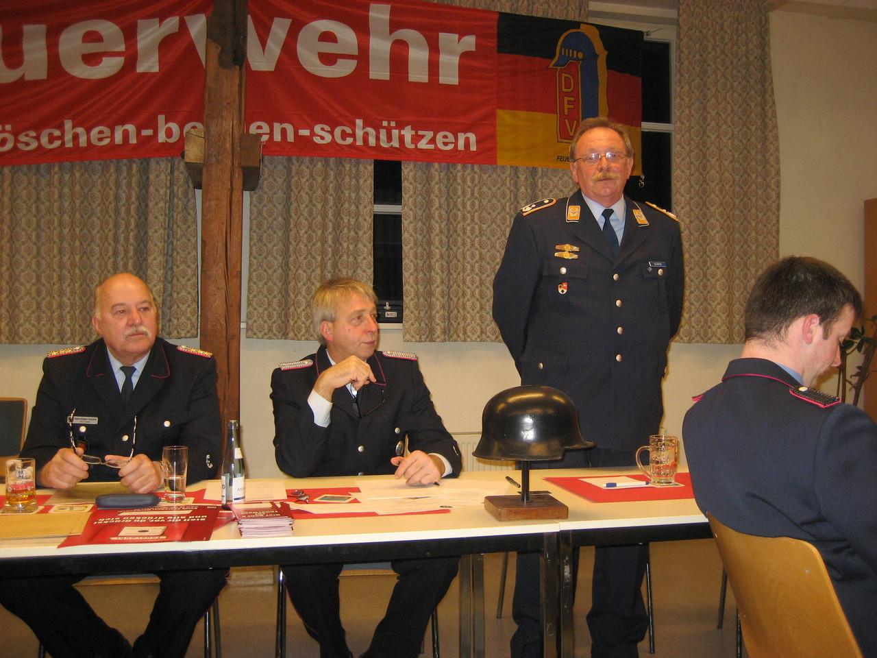 Herr Gerd Schäfer ( Ortsvorsteher Weddingen, Oberstlt.d.R.)