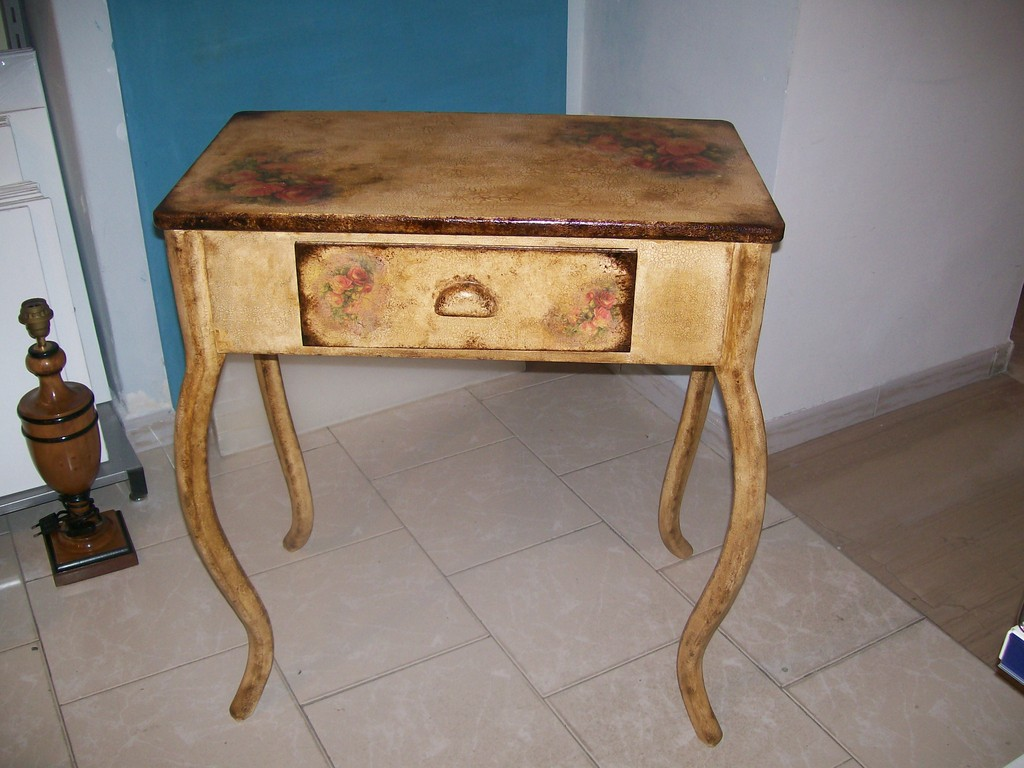 Decoupage pittorico