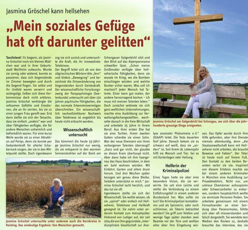 Neues Interview von Jasmina Gröschel