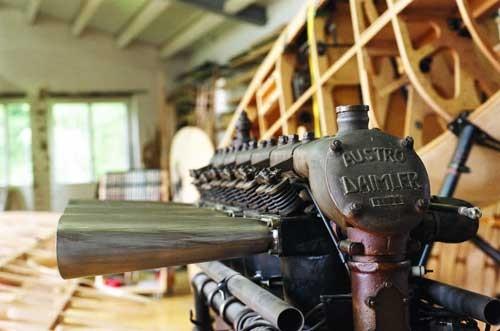 originale Austria Daimler Motor für den Albatros