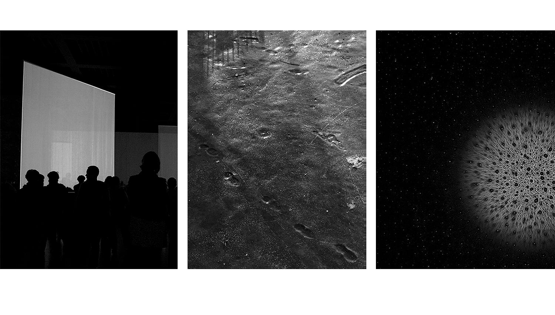 Anna Thiele, Tableau 3-teilig, fragments of now #6885, #706, #5081