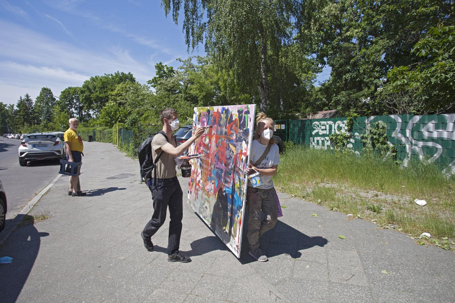 Walk am Do. den 03. Juni, von 10-14 Uhr: Charlottenburg Nord: Anna Freud Schule, Halemweg Kindertagesstätte, Olbersstraße 15 (2,7km)
