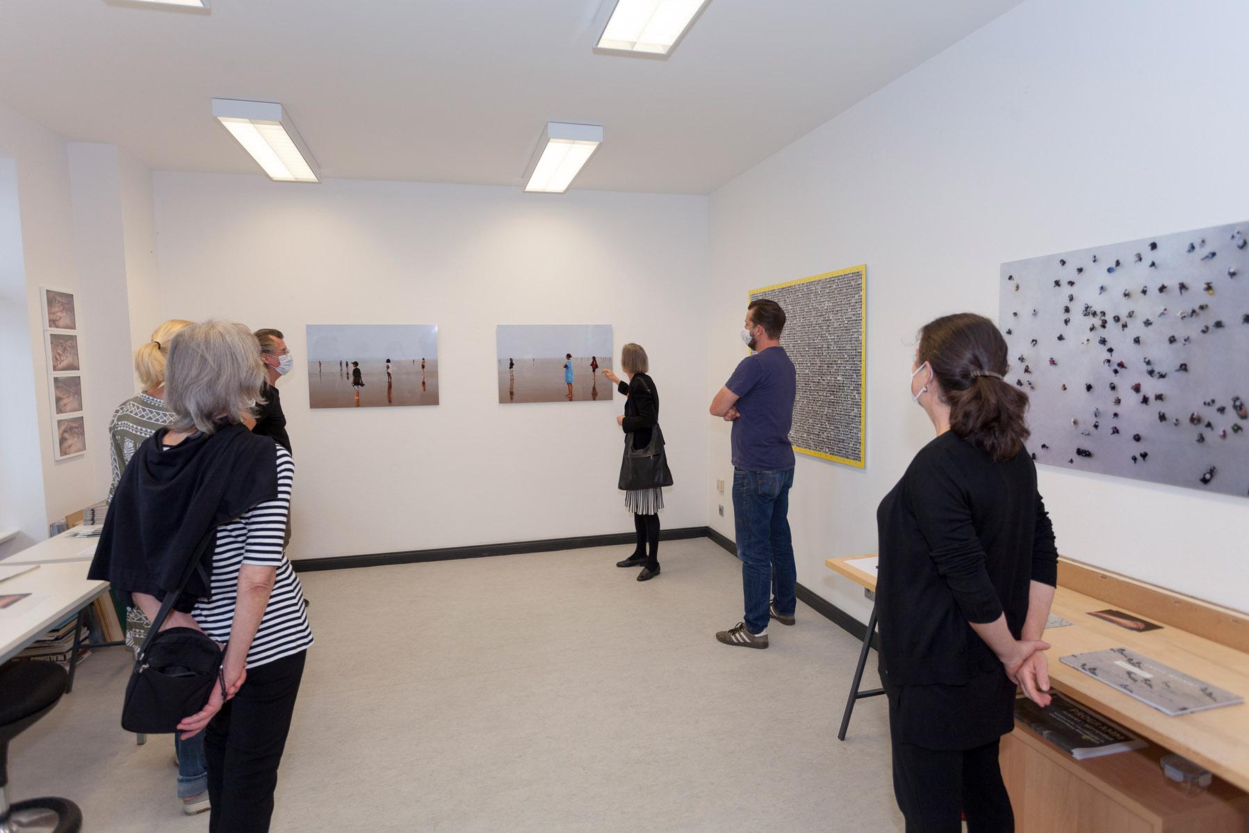 Atelierspaziergang mit Dr. Dorothée Bauerle Willert, Atelier Catrin Wechler