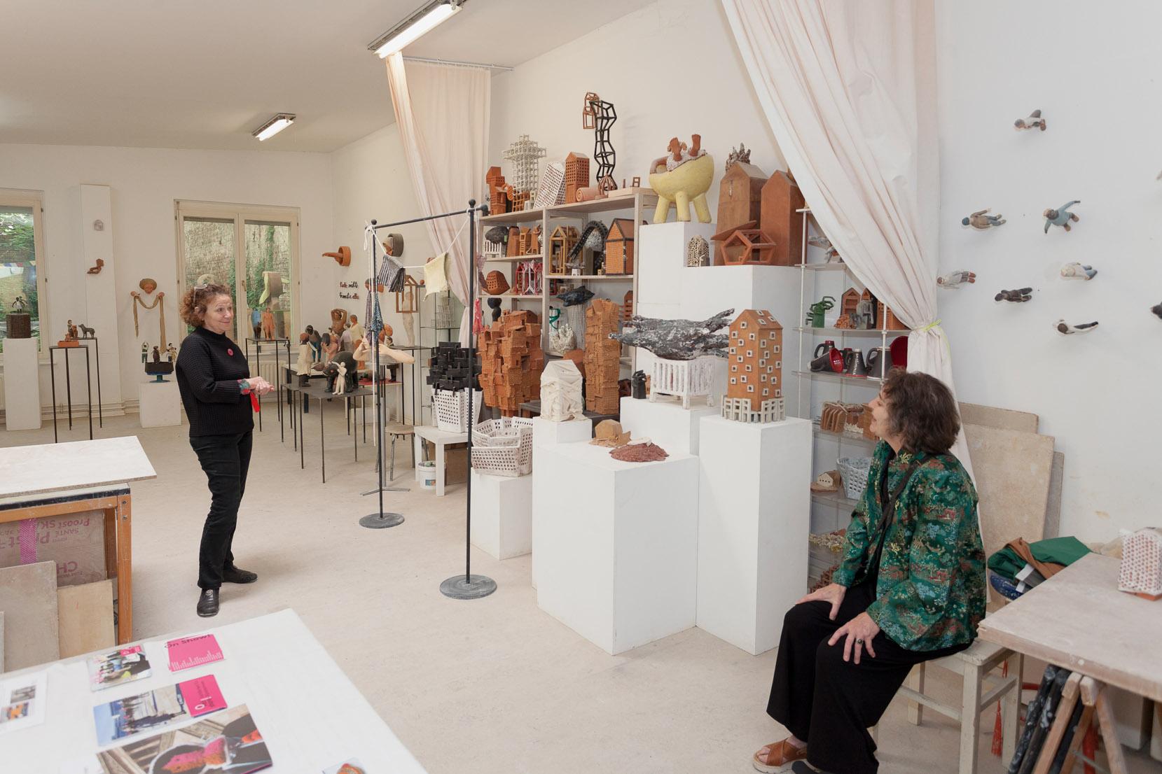 Atelierspaziergang mit Dr. Helen Adkins, Atelier Kohn