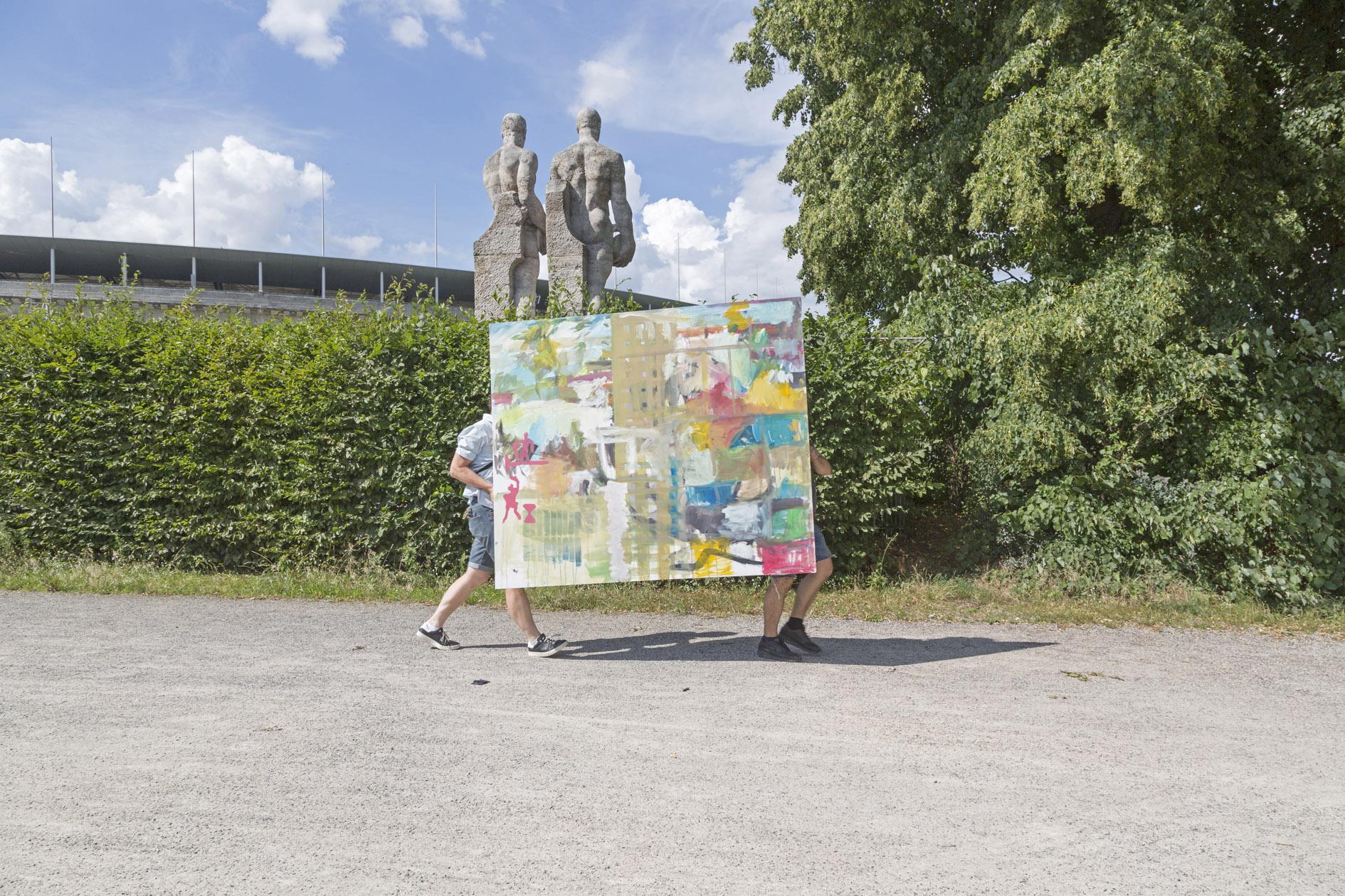 5. Walk am Di. 27. Juli, 10-13 Uhr Uhr: Kolbe Museum - Corbusierhaus - Olympiastadion