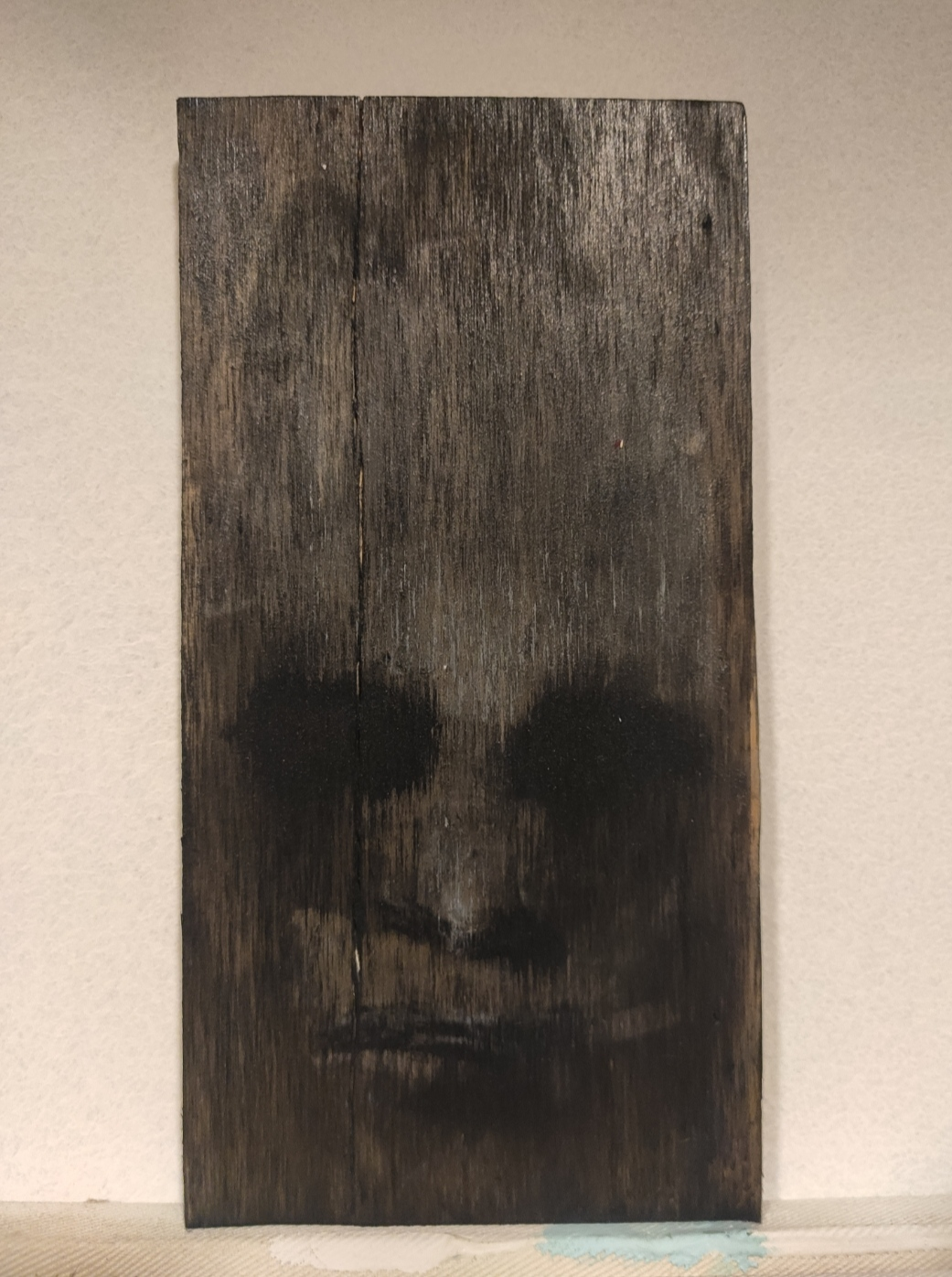 "Macarena Infante,  ""ohne Titel"", 2021, Malerei, ca. 20 x 30 cm"