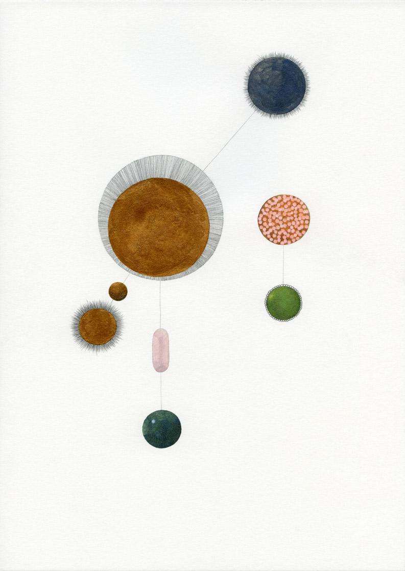 "Astrid Köppe, ""Z21 098"", 2021, Zeichnung A4, (c) Astrid Köppe / VG Bild-Kunst"