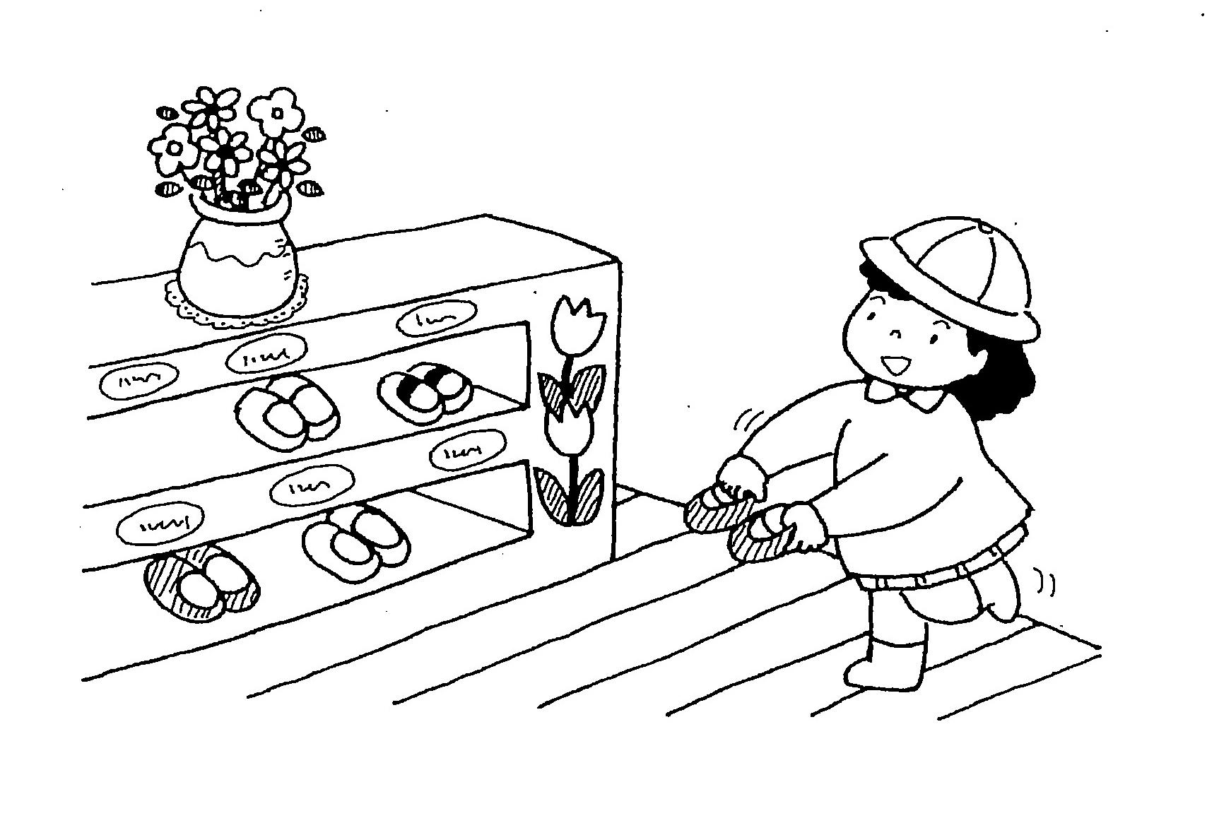 几帳面さ 靴箱の整理整頓と庭の掃除を見れば園の保育がほぼわかるものです