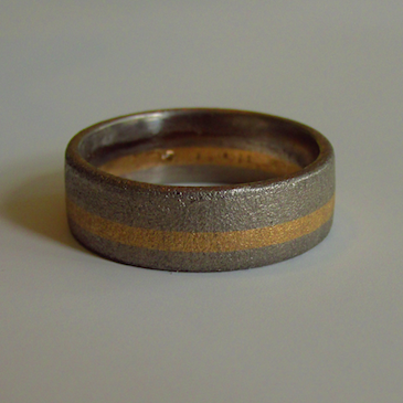 Ring-Palladium-Gelbgold