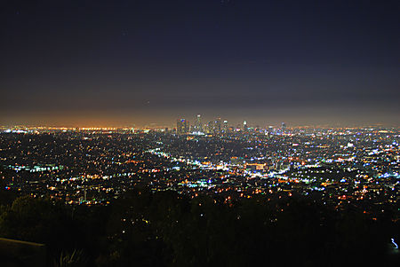Lumieres de Griffith Park