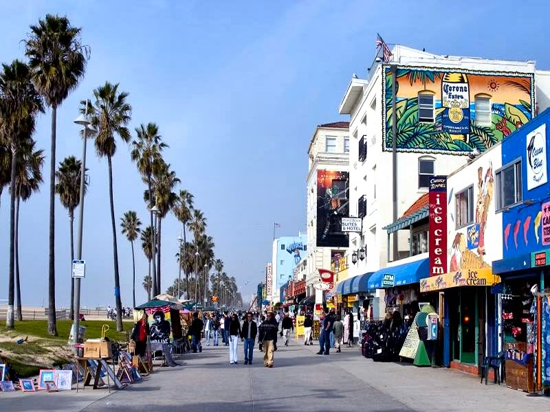 BoardWalk de Venice Beach