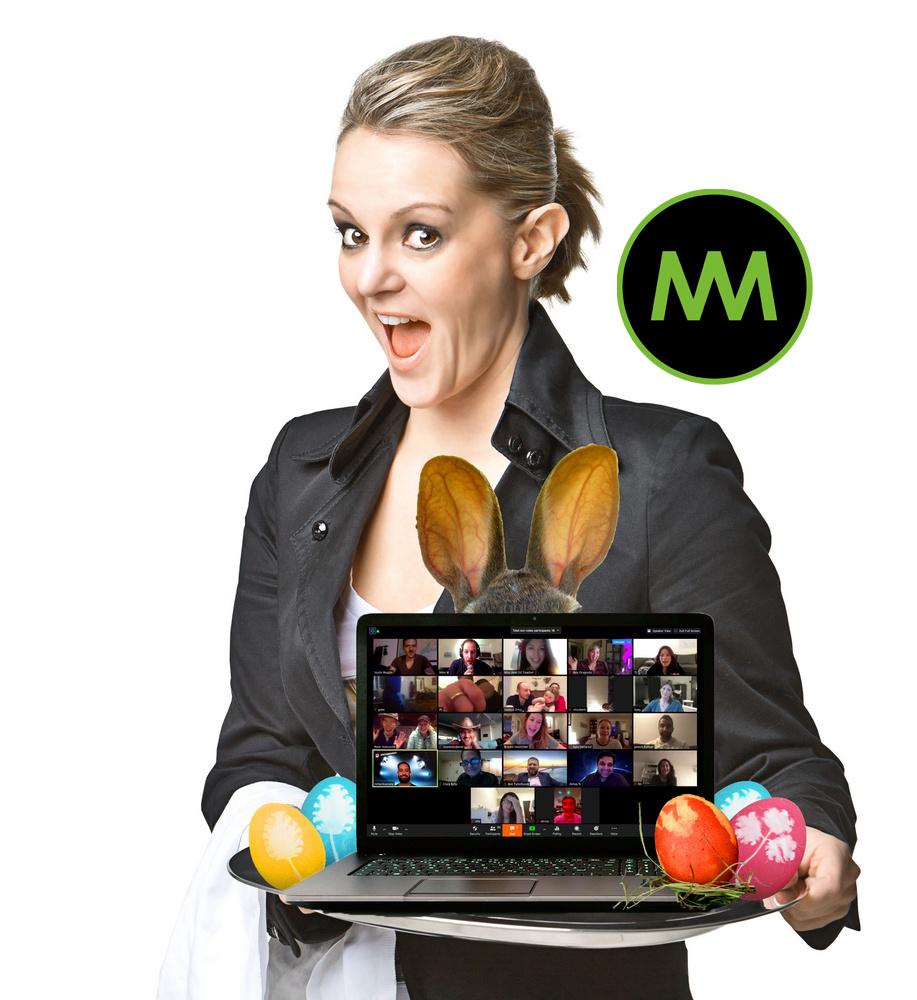Onlinezaubershow zu Ostern