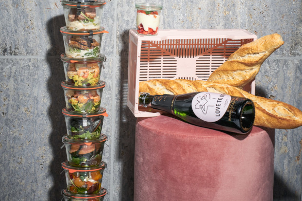 Muttertags-To-Go mit Champagner-Specials