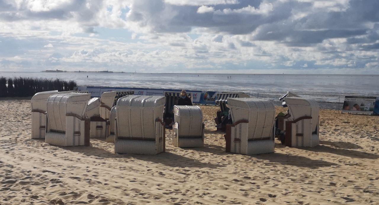 Schnupperwatt und Strandkorbgeschichten in Cuxhaven