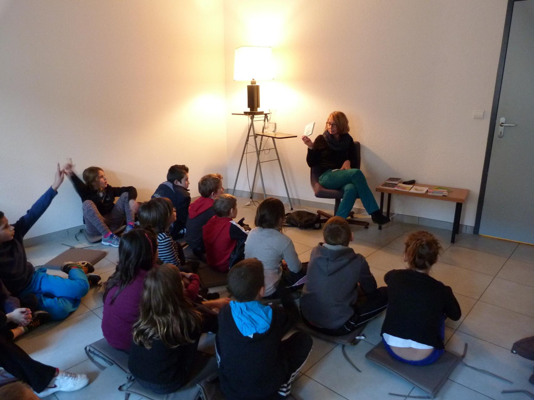rencontre avec l'auteure Sylvie Deshors