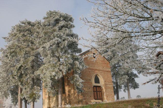 Chapelle St Majan sur le coteau