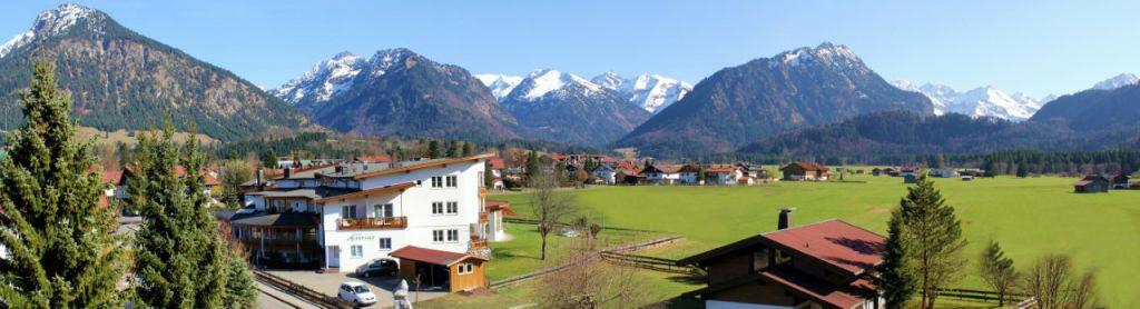 Oberstdorf im Allgäu 180 Grad