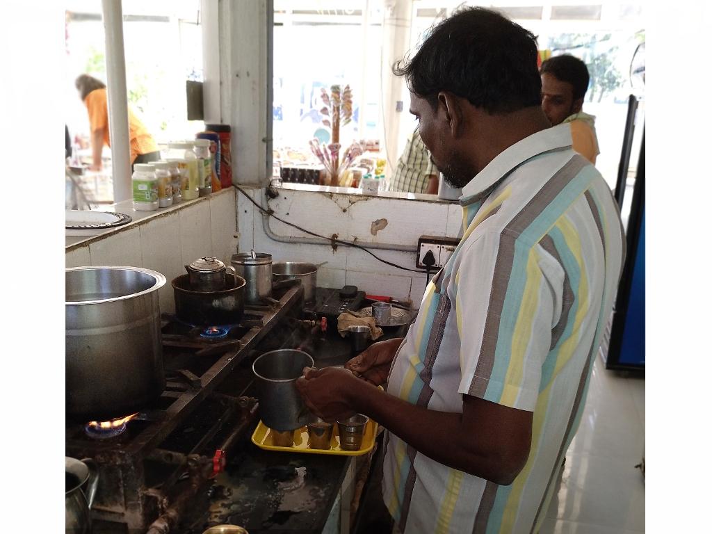 Wurde jedesmal frisch zubereitet und heiß ersehnt - Masala Chai