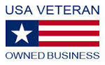 We are a Veteran owned Business