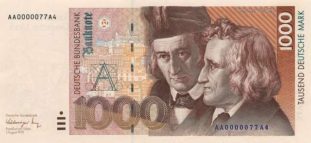 banknote-for-thousand-german-marks
