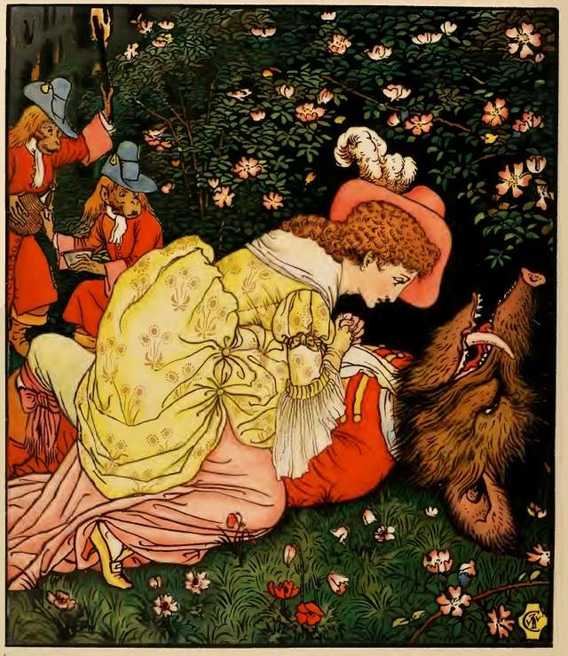 walter-crane-beauty-and-beast