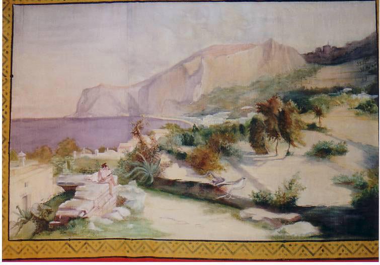 Detail vom Prospekt auf Naturseide