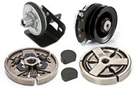 embrayages des lames pour tondeuses autoportées pièces pour la motoculture