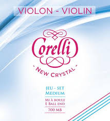 Corelli New Crystal -  струны для скрипки