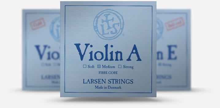 Струны для скрипки Larsen Дания купить не дорого