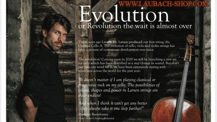 IL Cannone Larsen - революция и эволюция в звучании вашей виолончели