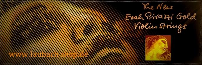 Струны для скрипки Evah Pirazzi Gold купить