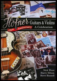 скрипичный битл бас гитара Karl Hofner купить