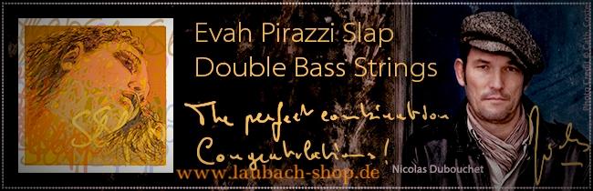 Evah Pirazzi Slap Pirastro для контрабаса Купить недорого