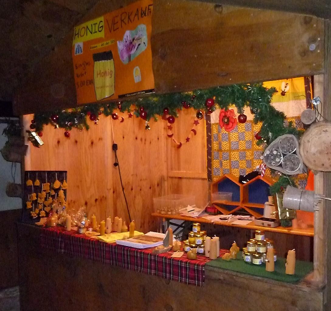 Stand auf dem Weihnachtsmarkt 3