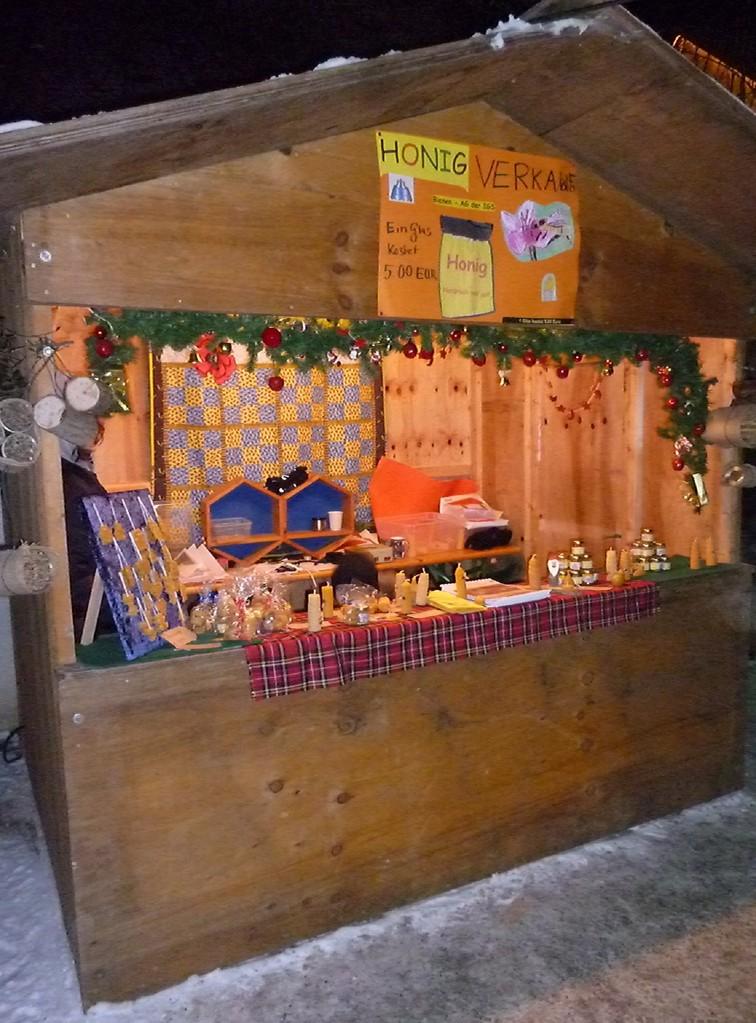Stand auf dem Weihnachtsmarkt 1