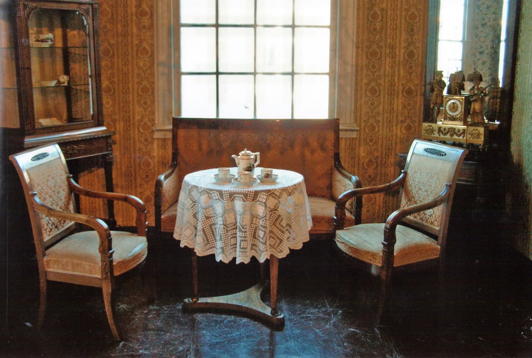 Empire-Zimmer, frühes 19. Jahrhundert
