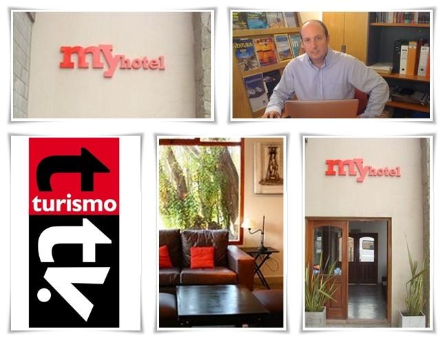My Hotel Calafate en Turismo Tv, televisión turística