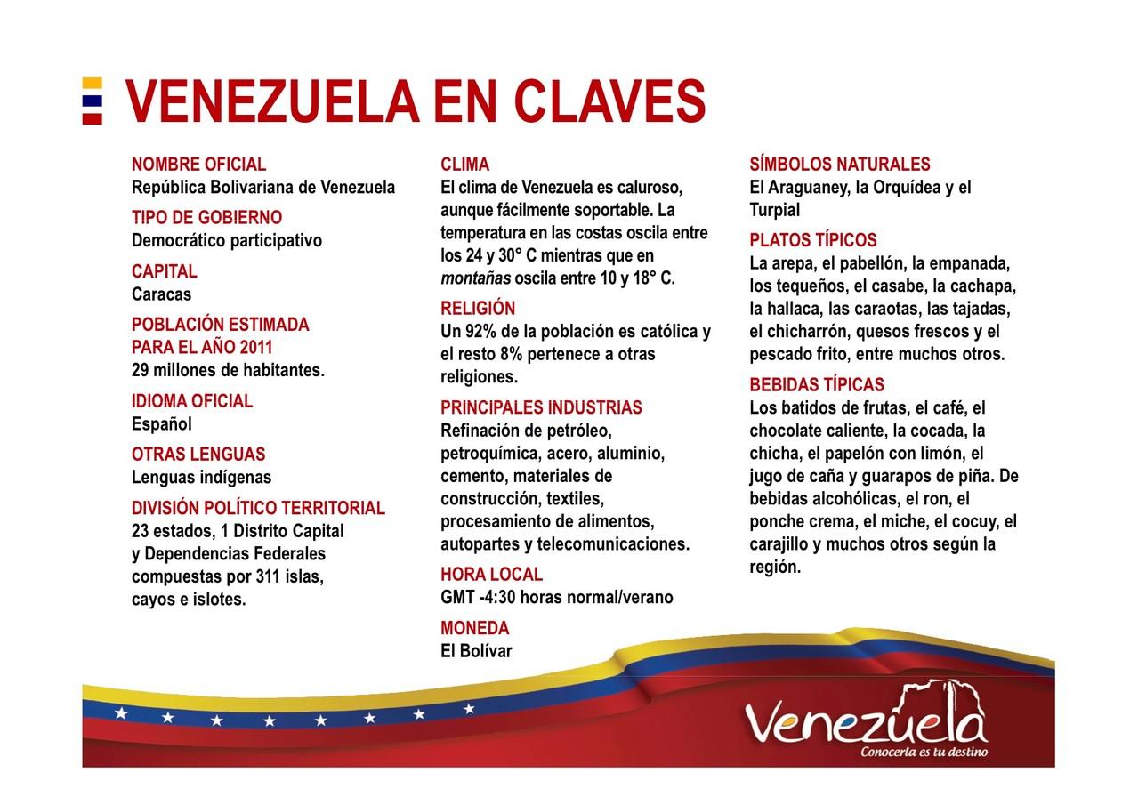 Venezuela Turismo , lo que hay que saber