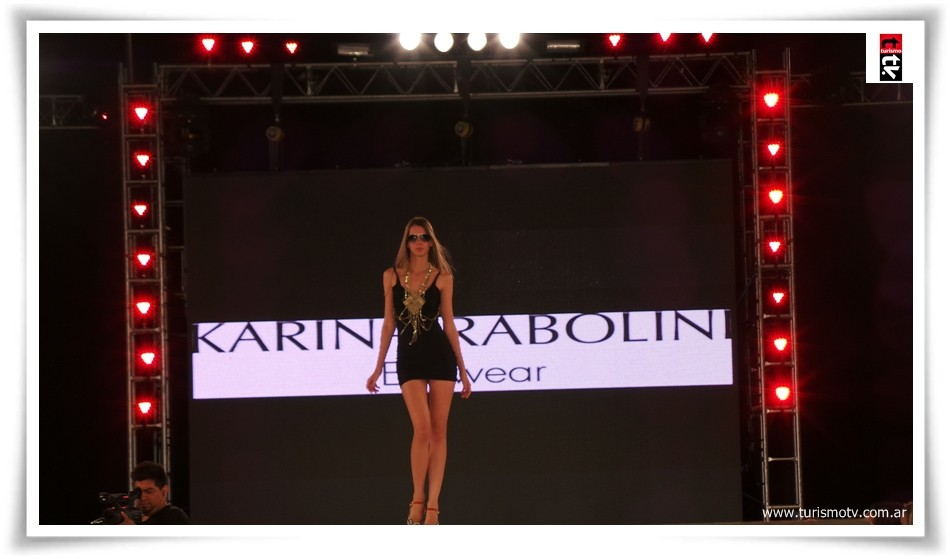 Karina Rabolini para Miss Pinamar 2014