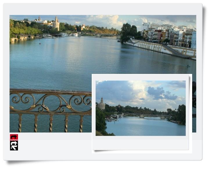 Turismo Tv, televisión turística en Sevilla. Puente de Triana