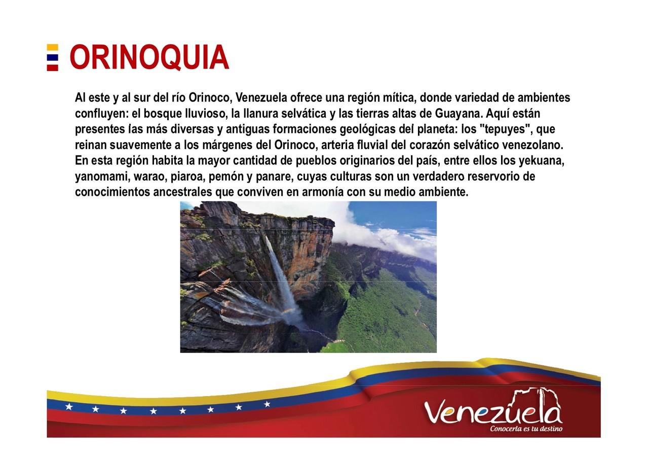 Orinoquia Turismo en Venezuela