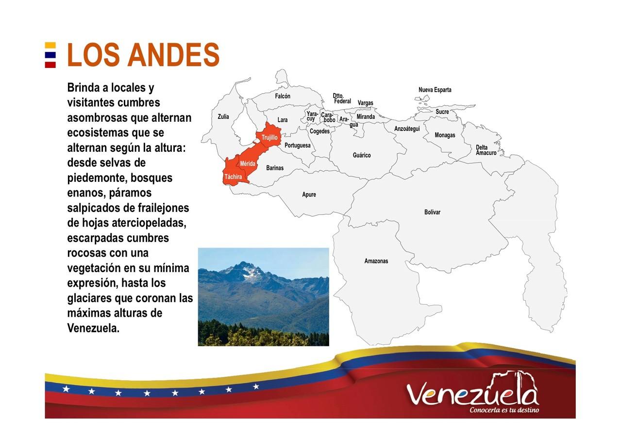Los Andes Turismo en Venezuela