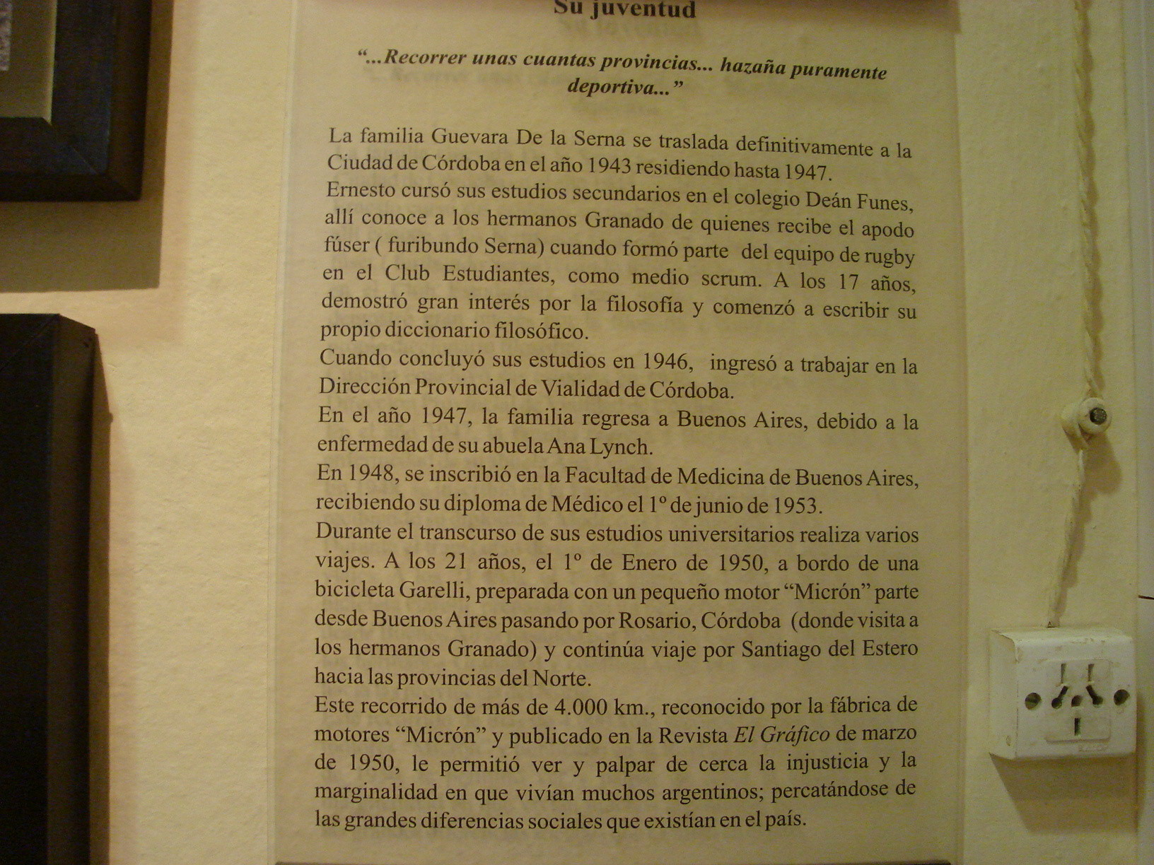 Museo Casa de Ernesto Che Guevara