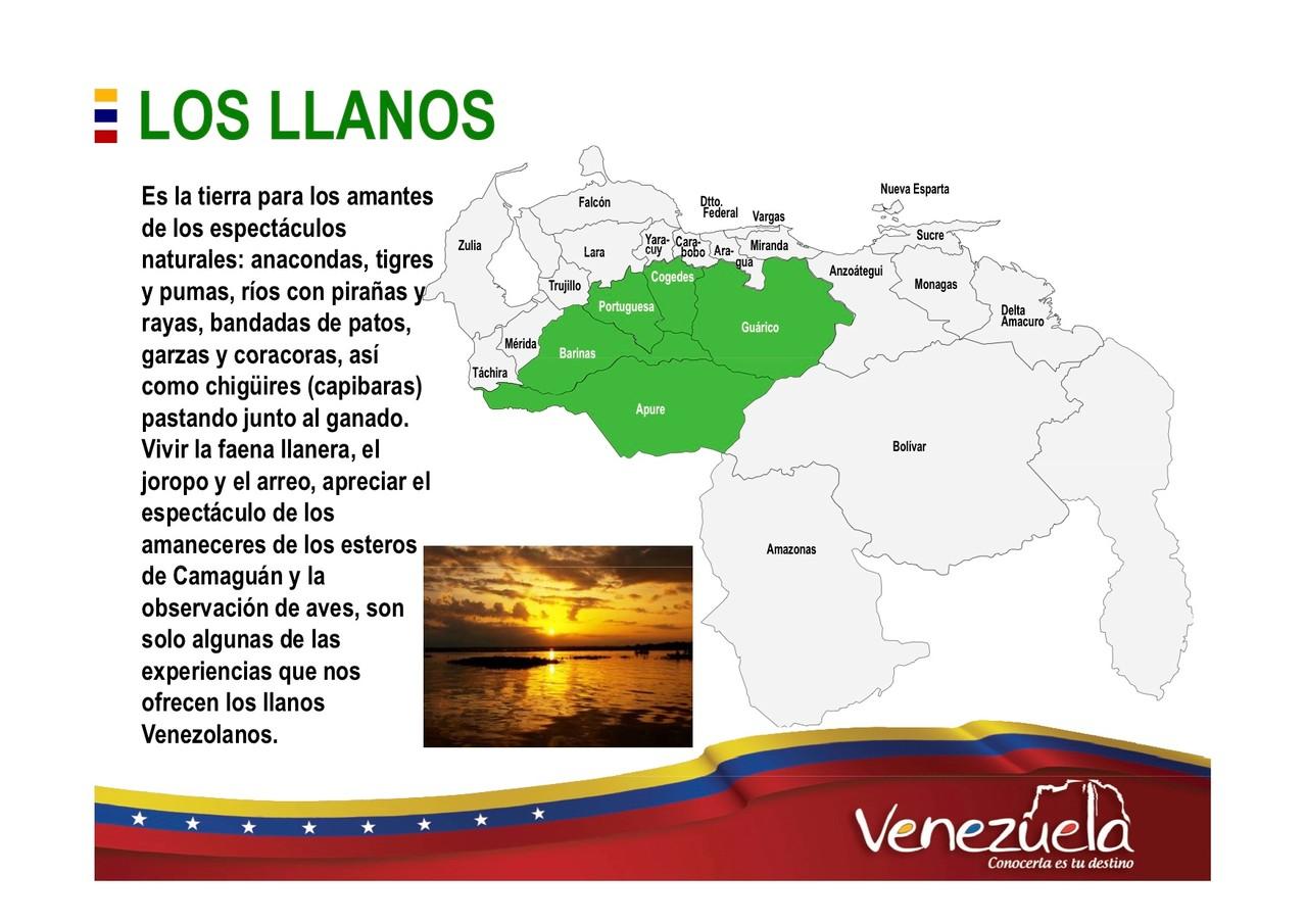 Los llanos Turismo en Venezuela