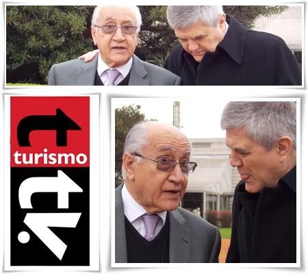 Antonio Torrejón y Roberto Brunello de Feghra