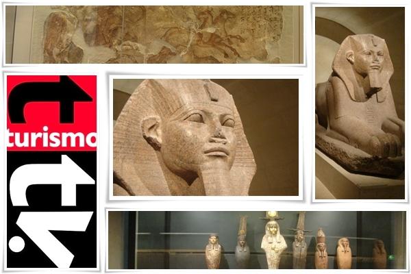 Turismo Tv en El Louvre. Arte egipcio en Turismo Tv. Turismo Tv, televisión turística