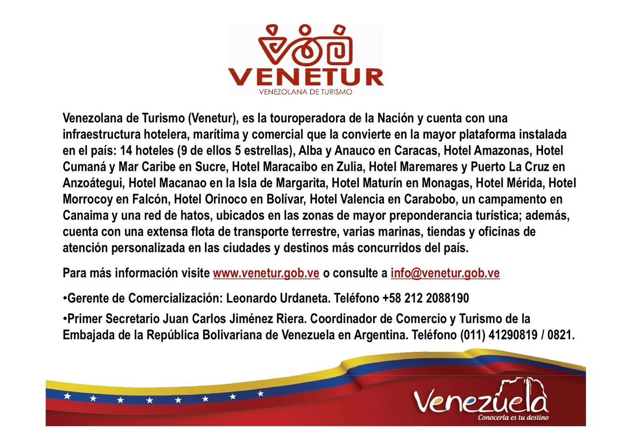 Informes de Turismo en Venezuela