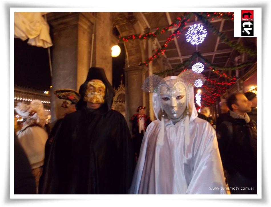 Noches de Carnaval en el café Florian de Venecia